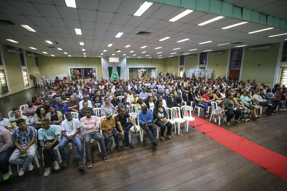 Escola de Construção Civil forma 518 alunos
