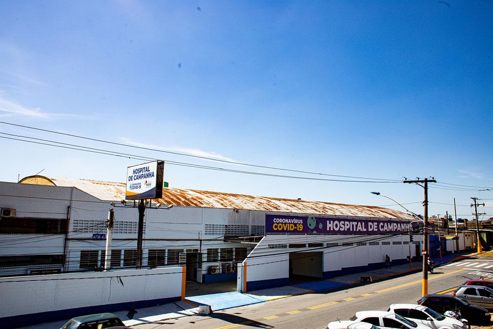 Hospital de Campanha de Taboão da Serra já está em funcionamento