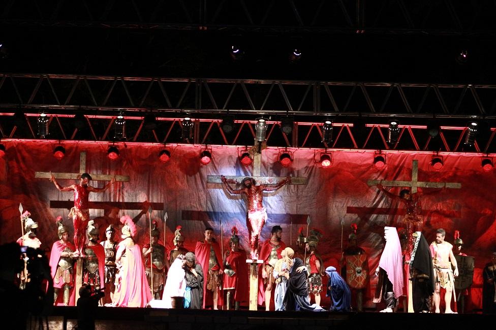 """62ª encenação da """"Paixão de Cristo"""" será na Sexta-feira Santa, 30/03"""