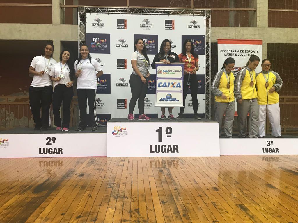 Caratecas de Taboão foram vice-campeãs no 81º Jogos Abertos do Interior 2017