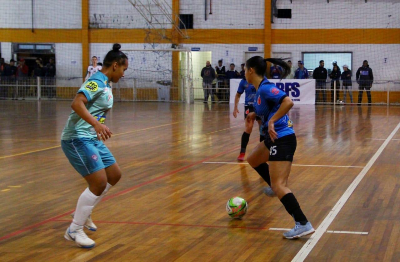 Cats e Cianorte empatam no jogo de ida pela final da Copa do Brasil de futsal feminino