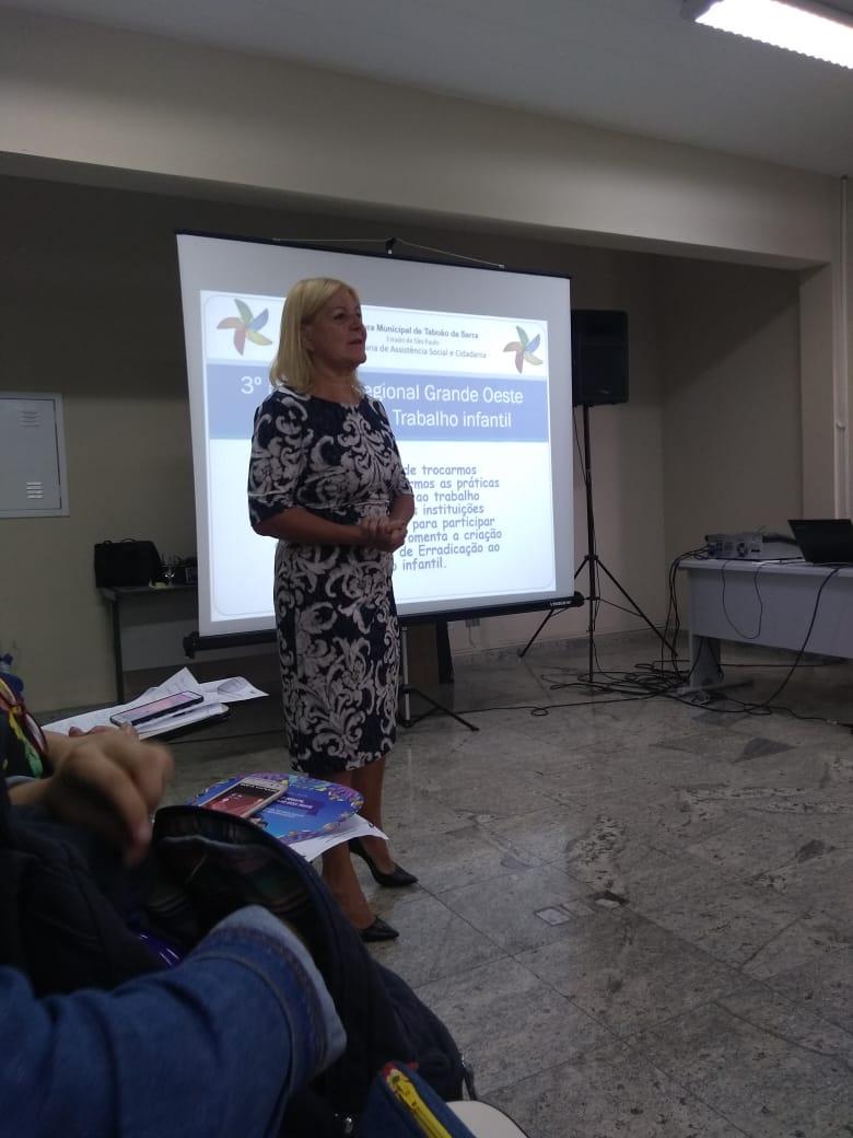Taboão da Serra sediou o 3º Encontro Regional de Enfrentamento ao Trabalho Infantil