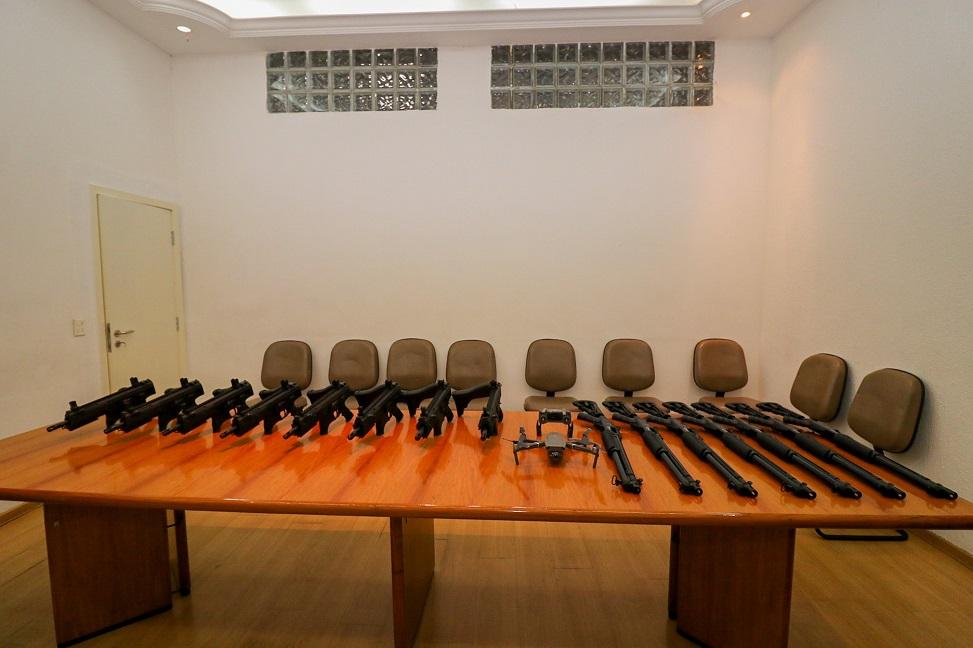 Secretaria de Segurança adquire armas e drone para GCM com emenda parlamentar