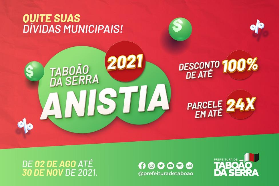 Campanha de Anistia 2021 já começou