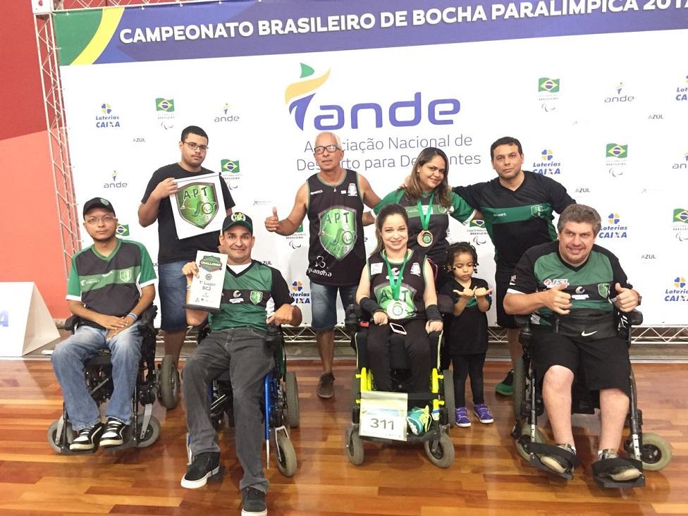 Atletas conquistaram medalhas em Campeonato Brasileiro Individual de Bocha