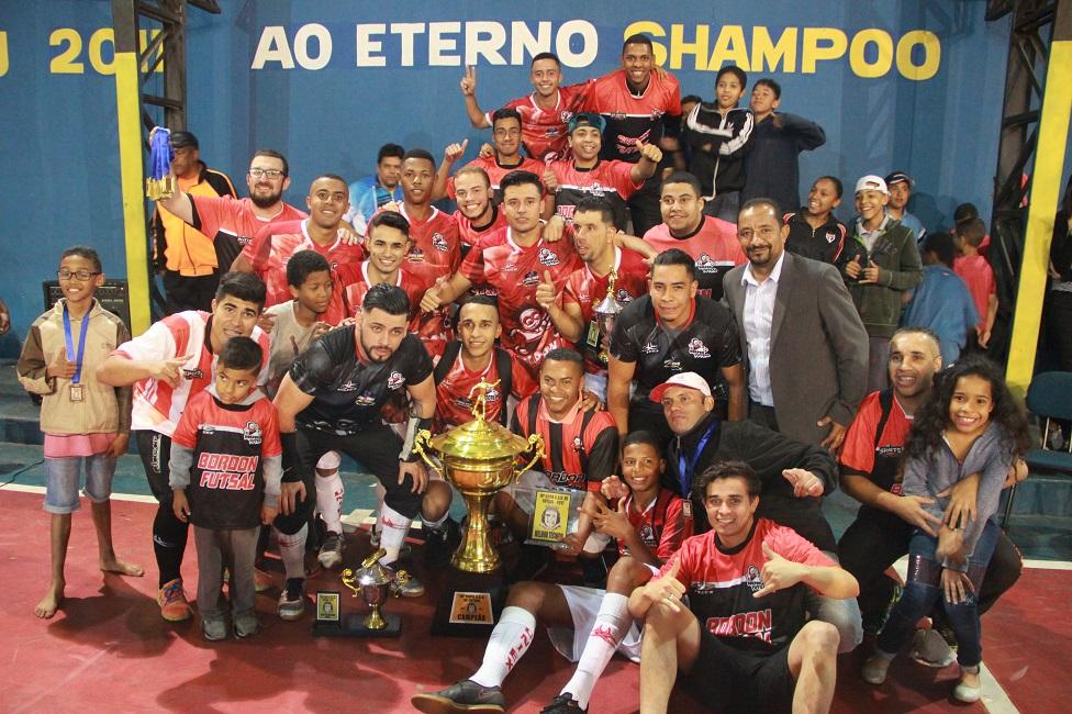 Bordon goleia Força Jovem e é campeão da 18ª Copa CSU de Futsal