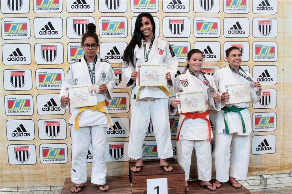 Atleta taboanense foi campeã do Campeonato Paulista de Judô por faixas