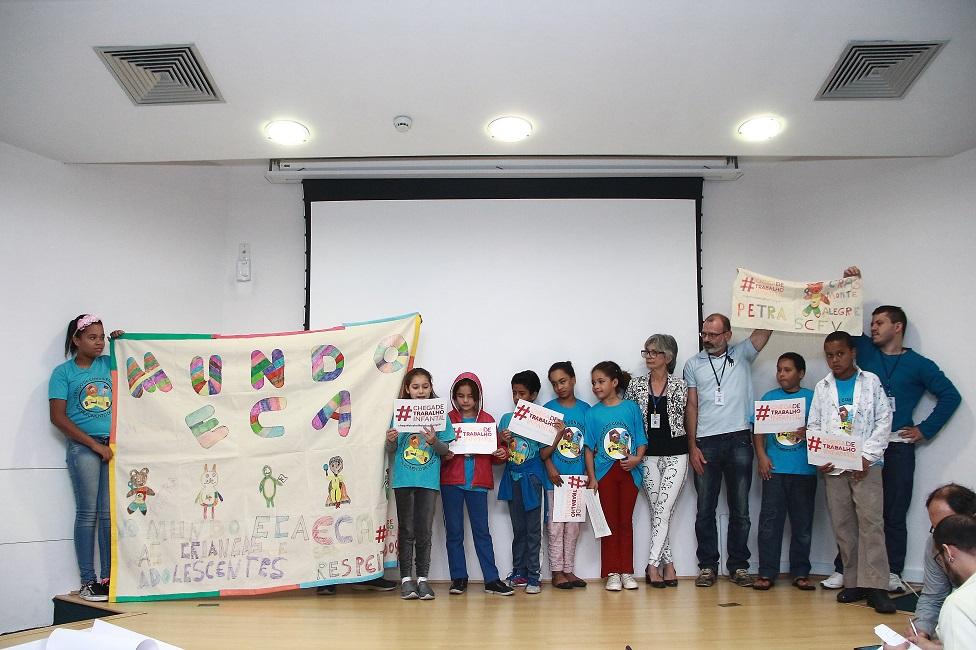 Concurso elegeu mascote que representará Programa de Erradicação do Trabalho Infantil