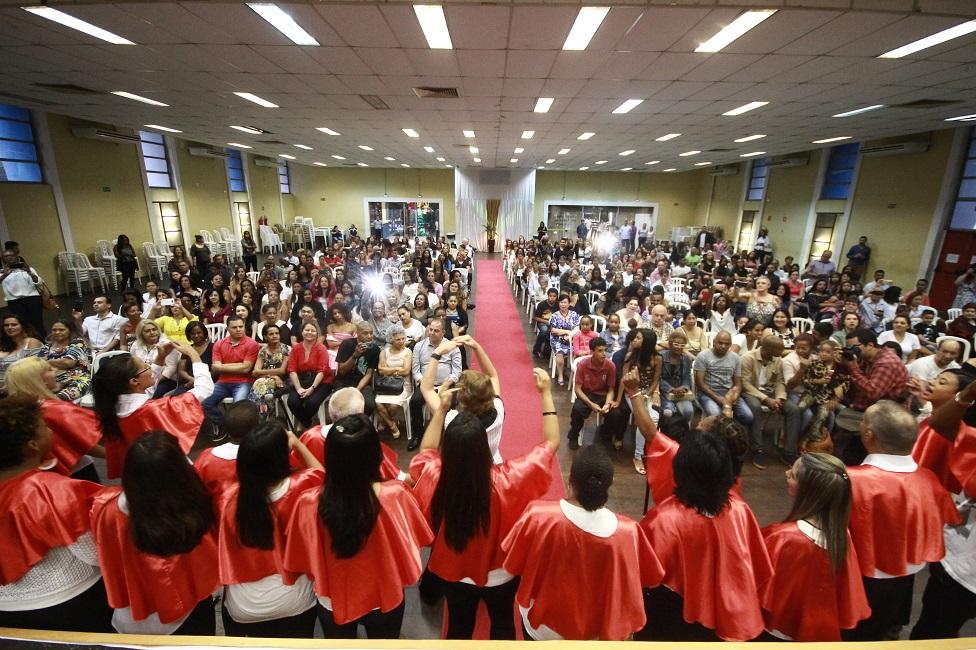 500 alunos se formam pela Escola Municipal de Gastronomia
