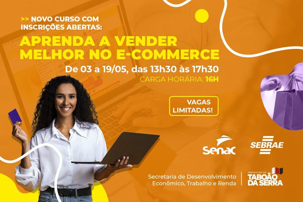 Taboão da Serra oferece curso gratuito online para melhorar as vendas na internet