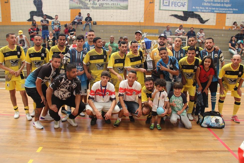 Bordon é campeão do Campeonato Municipal de Futsal da Segunda Divisão