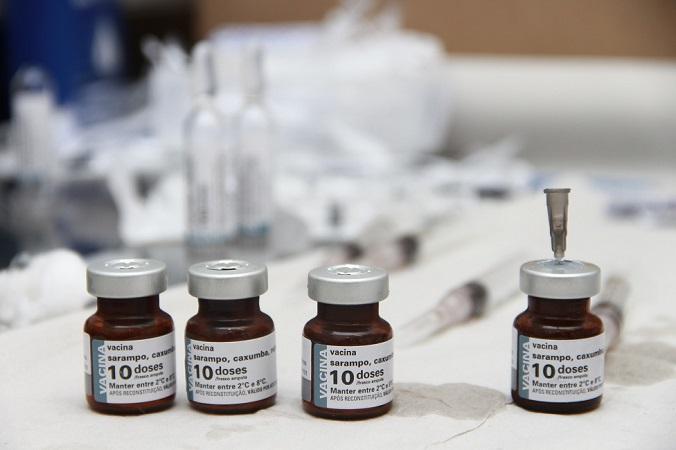 Campanha de vacinação contra o sarampo segue até o dia 16 de agosto