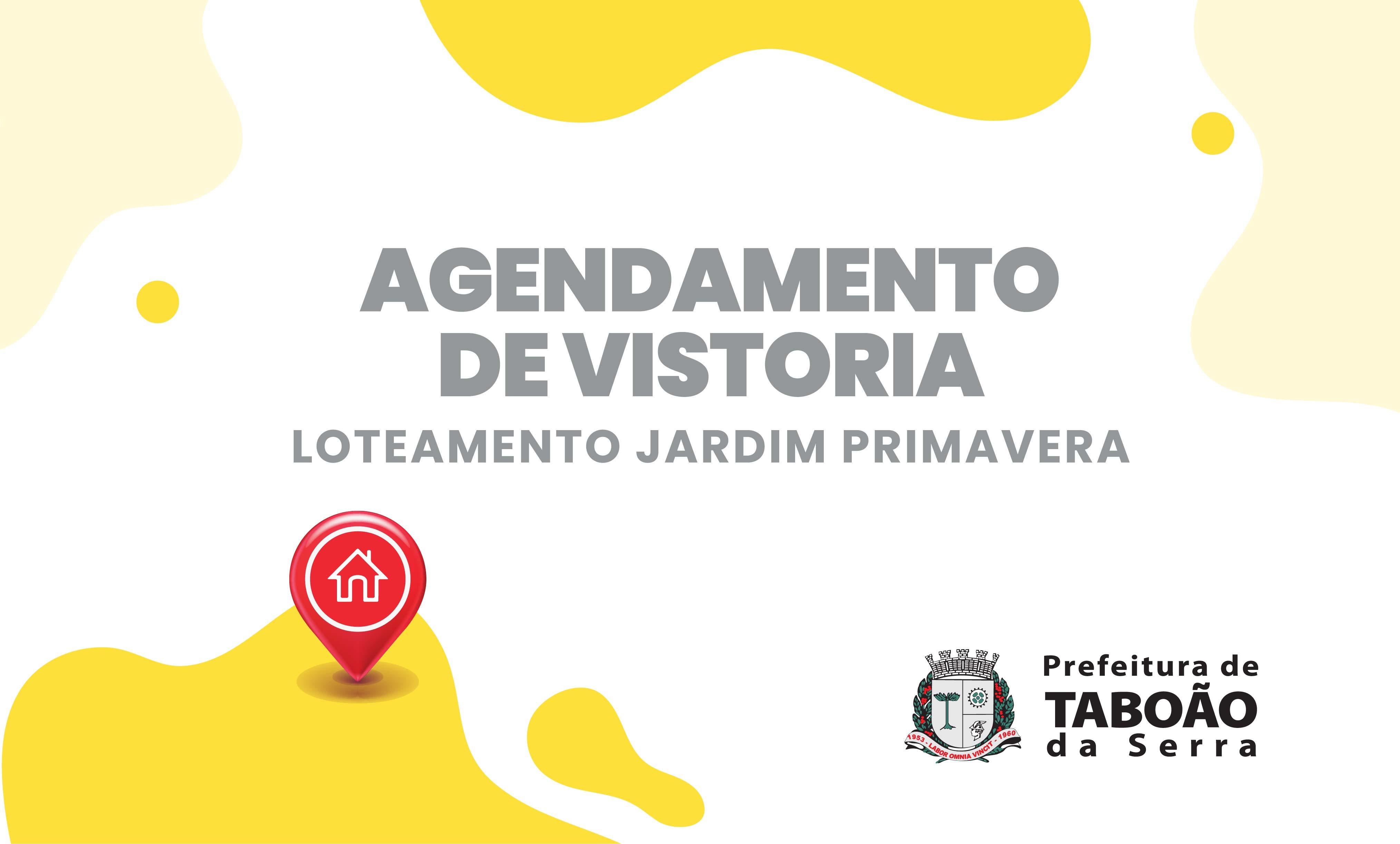 Prefeitura vistoria imóveis do Jardim Primavera para regularização