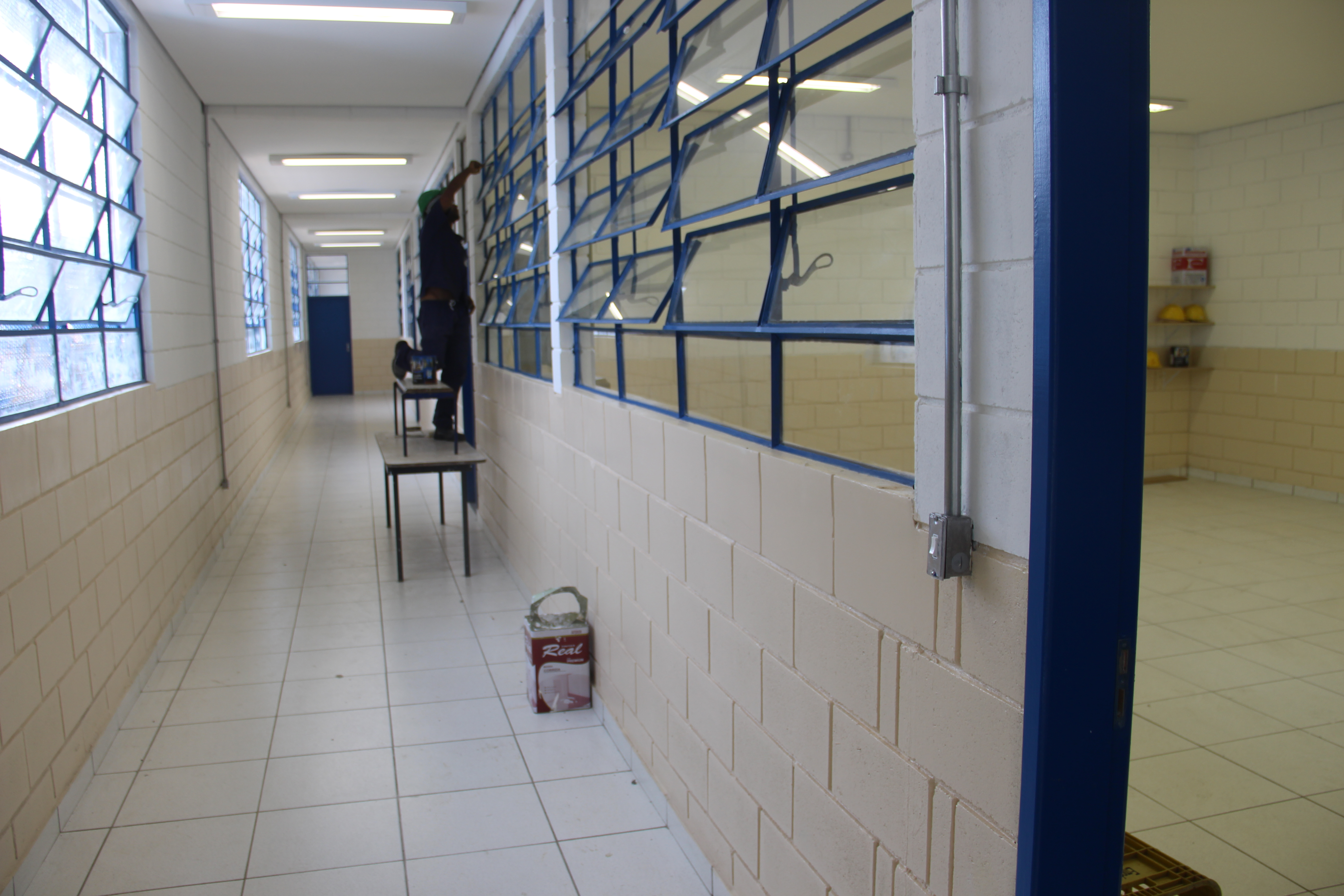 EMEF Francisco Ferreira Paes ganha quatro novas salas de aula
