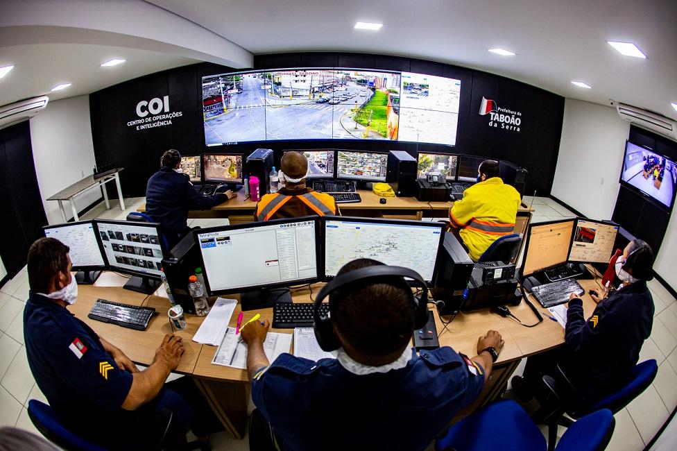 Prefeitura investe em tecnologia e infraestrutura para segurança da população