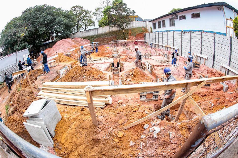 Taboão da Serra investe em obras para melhorias na cidade