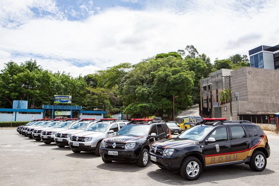 Guarda Civil Municipal recebe 10 novas viaturas