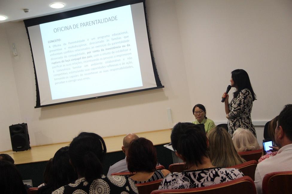 Fórum da Comarca de Taboão da Serra lança Oficina de Pais e Filhos