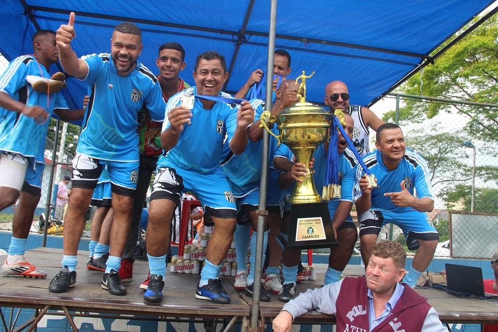 Santa Emília vence Fortaleza e é campeão do 17º Campeonato Master 45 anos