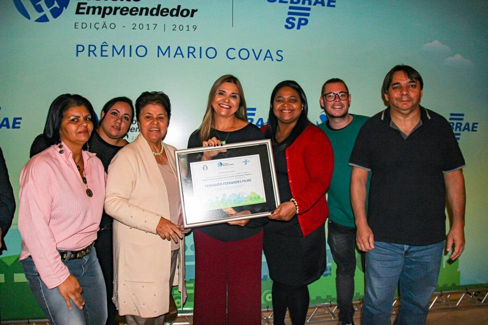 Taboão da Serra recebe selo do prêmio Sebrae Prefeito Empreendedor