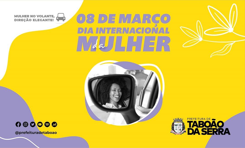 Secretaria de Transportes homenageia condutoras no mês da mulher