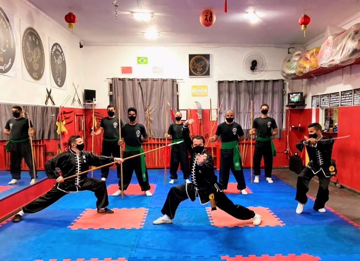 Kung-fu de Taboão é destaque no I Campeonato Aberto Paulista Online