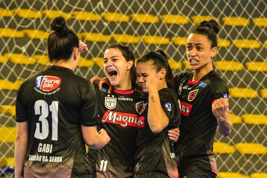 CATS Futsal Feminino vence o Leoas da Serra por 3x2 e está na Libertadores