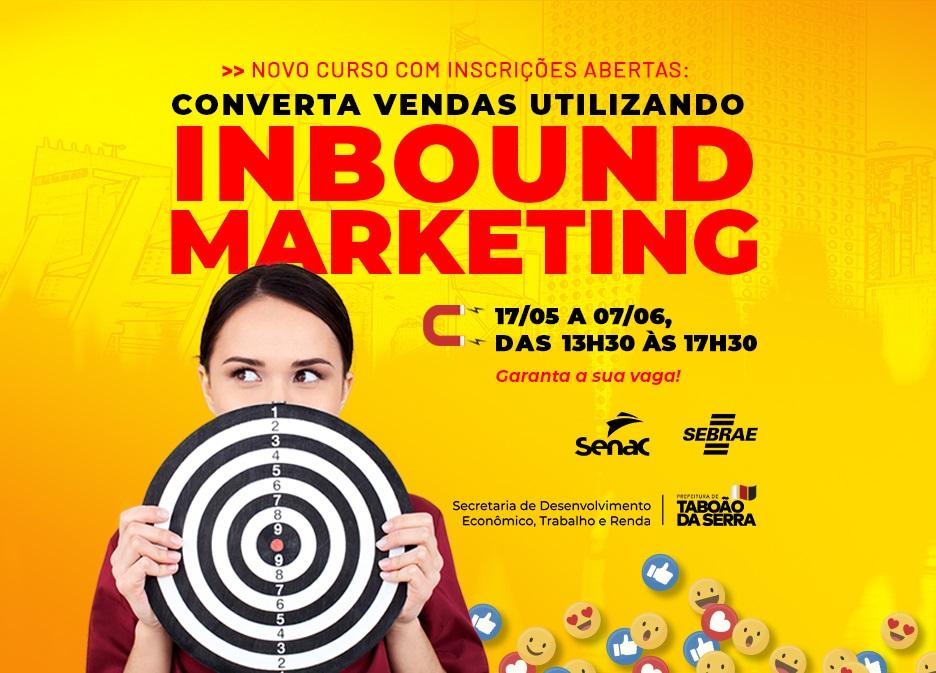 Inscrições abertas para o curso on-line gratuito sobre marketing de atração